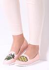 Różowe Mokasyny Pineapple