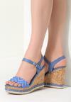 Niebieskie Sandały Strive