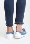 Niebieskie Slip On Leila