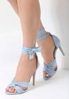 Niebieskie Sandały Speak To Man