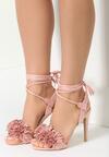 Różowe Sandały Frensi