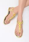 Żółte Sandały Ember