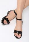 Czarne Sandały Puddle