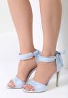 Niebieskie Sandały Heart Attack
