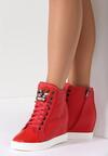 Czerwone Sneakersy Lumen