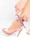 Różowe Sandały Ball Wrecking