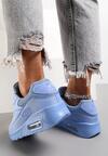 Jasnoniebieskie Buty Sportowe Blueberry