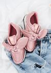 Różowe Buty Sportowe Succesful