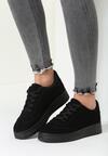 Czarne Buty Sportowe Precious Lady