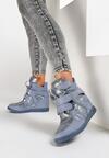 Niebieskie Sneakersy Strangers