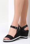 Czarne Sandały One Thing