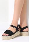 Czarne Sandały Toxic