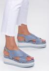 Niebieskie Sandały Sunglow