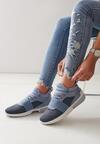 Niebieskie Buty Sportowe Paper Fuse