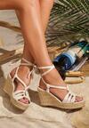 Beżowe Sandały Tuscan