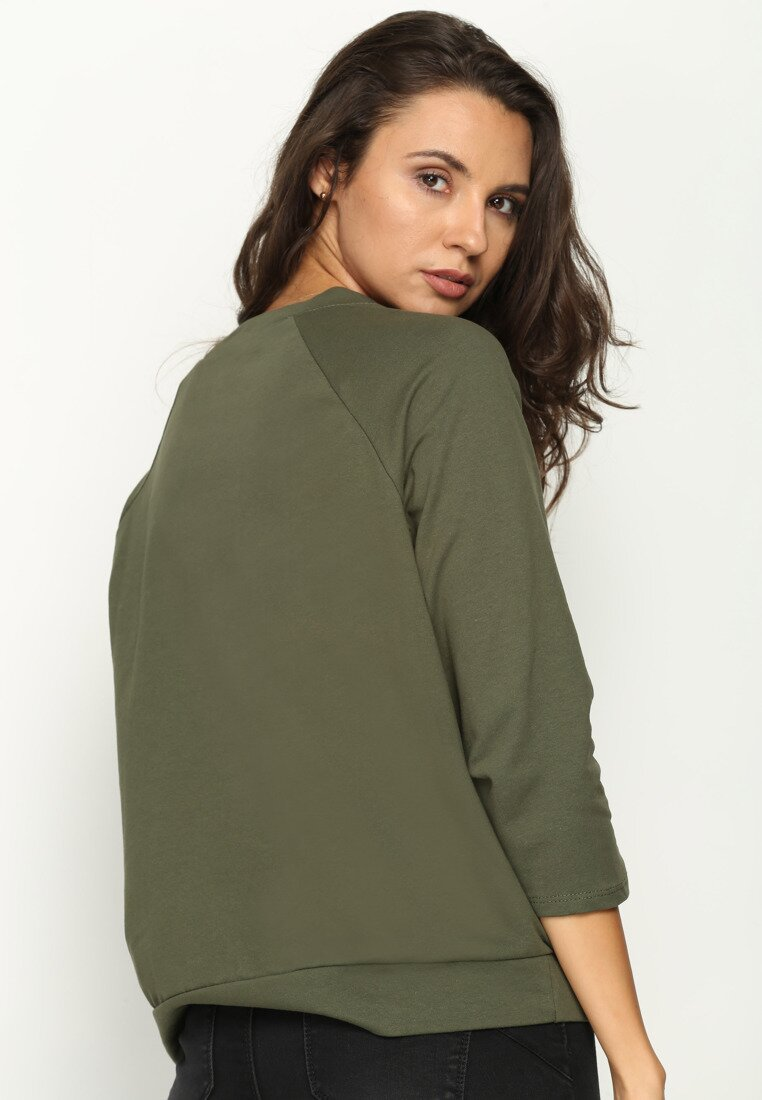 Khaki Bluza Inspiring Thing