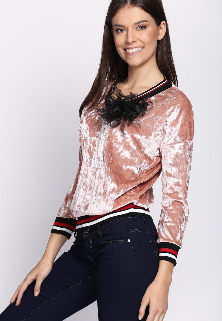Różowa Bluza Glowing