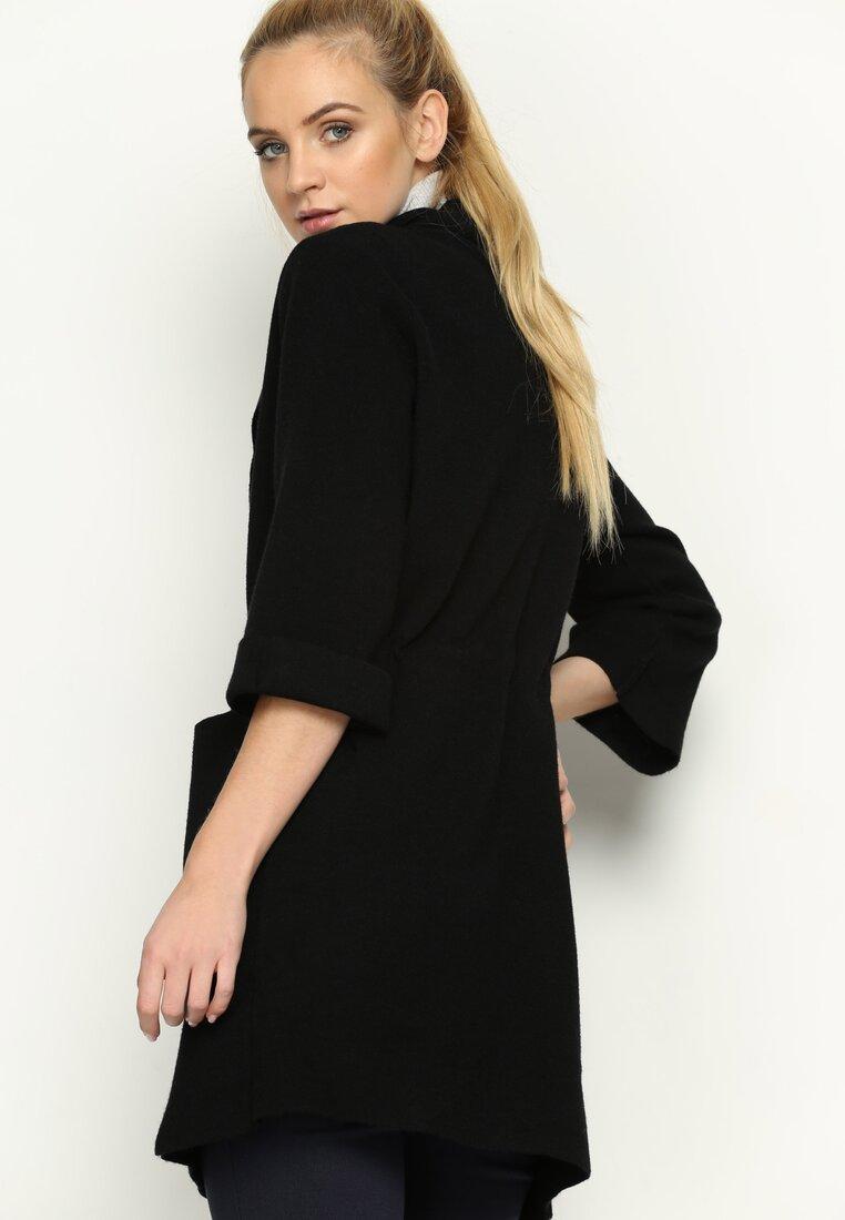 Czarny Płaszcz Ultraviolet