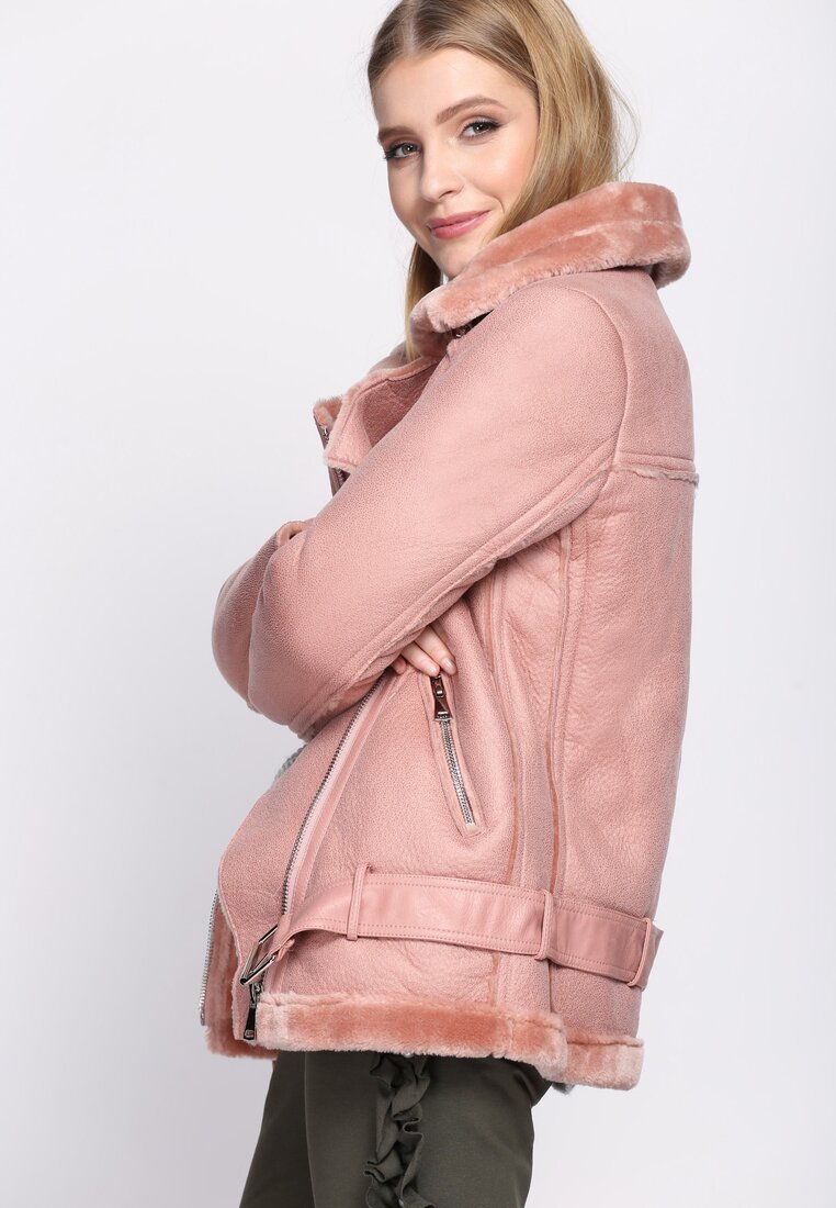 Różowa Ramoneska Anomie