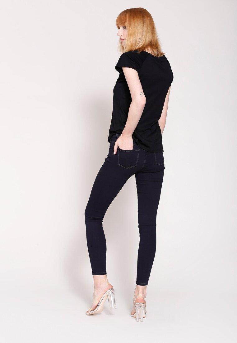 Ciemnogranatowe Jeansy Ode To Fashion