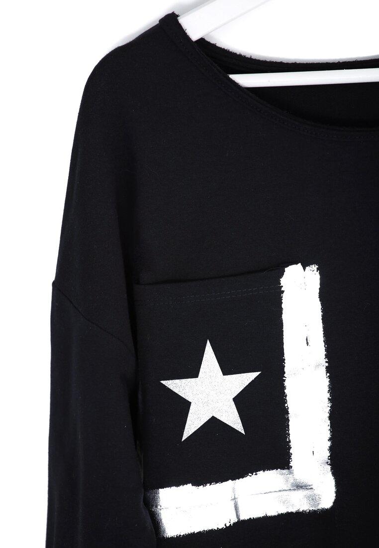Czarna Bluzka Angle Star