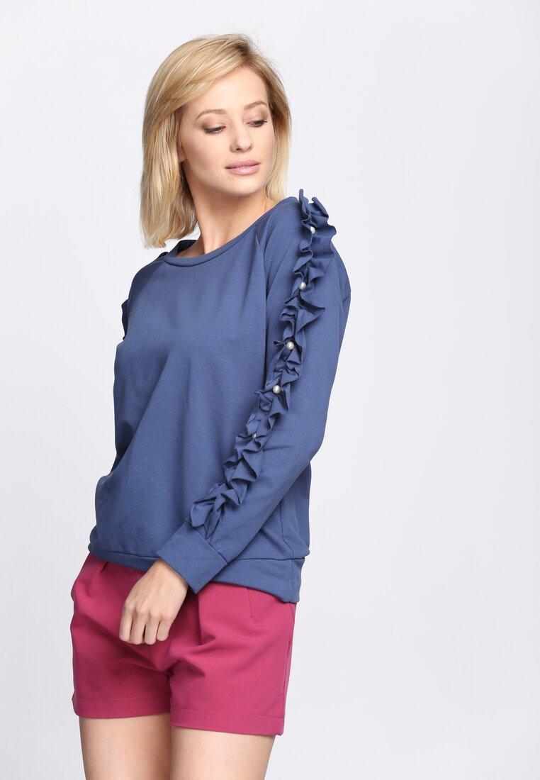 Niebieska Bluzka She's Rebel