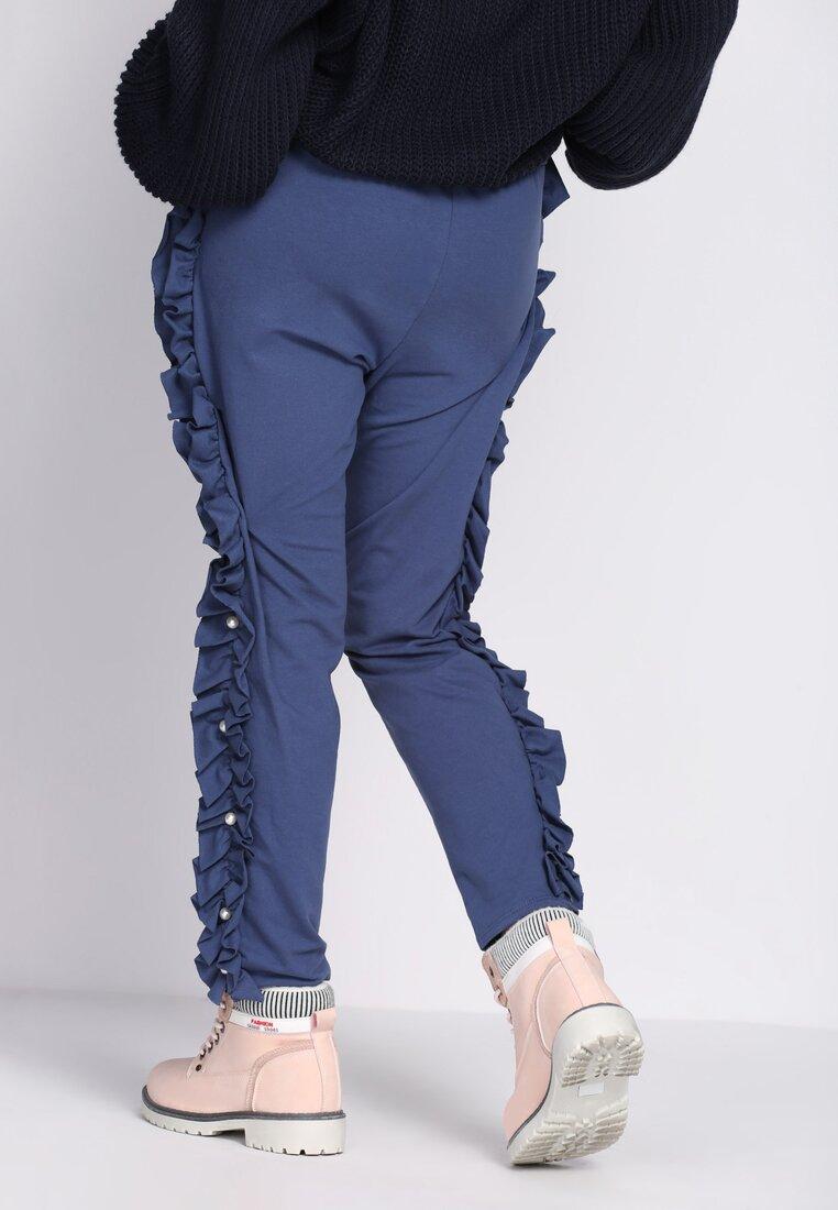 Niebieskie Spodnie Dresowe Baby Baby