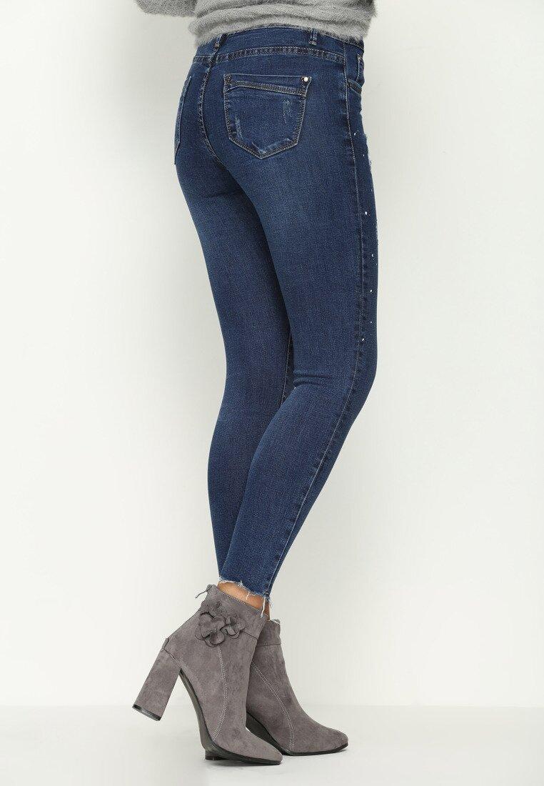 Niebieskie Jeansy Blur