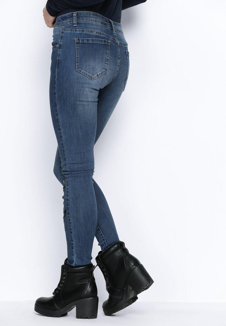 Niebieskie Jeansy Fortunate