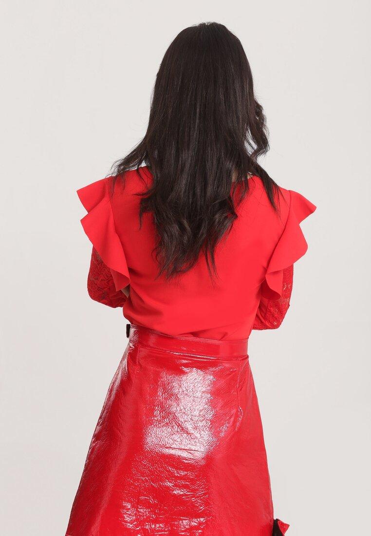 Czerwona Bluzka Dolce Rosa