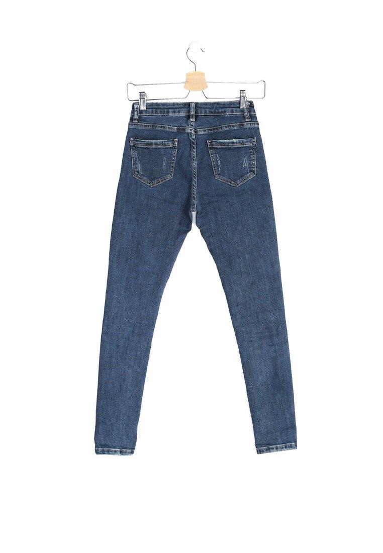 Niebieskie Jeansy Pocketfull