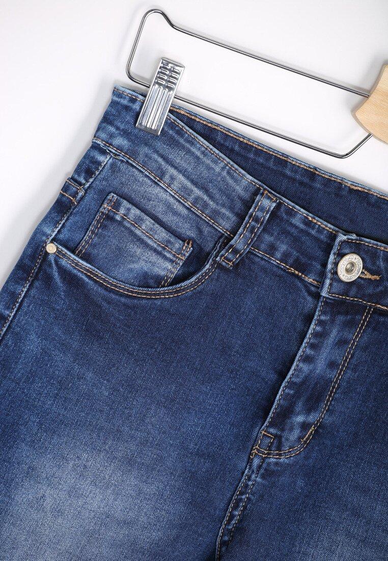 Niebieskie Jeansy Without Sugar