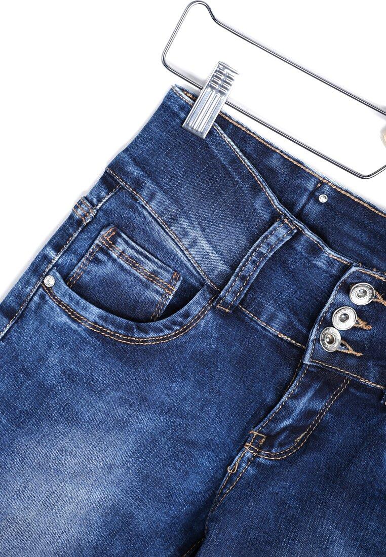 Niebieskie Jeansy Disclaim