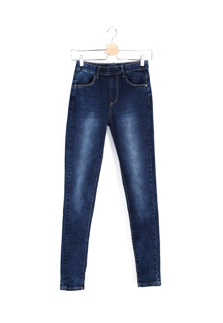 Niebieskie Jeansy Abrasive