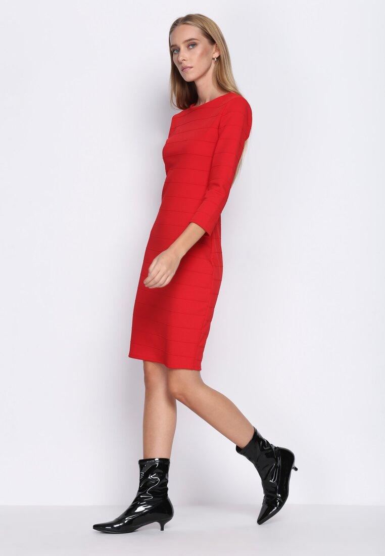 Czerwona Sukienka Seduce