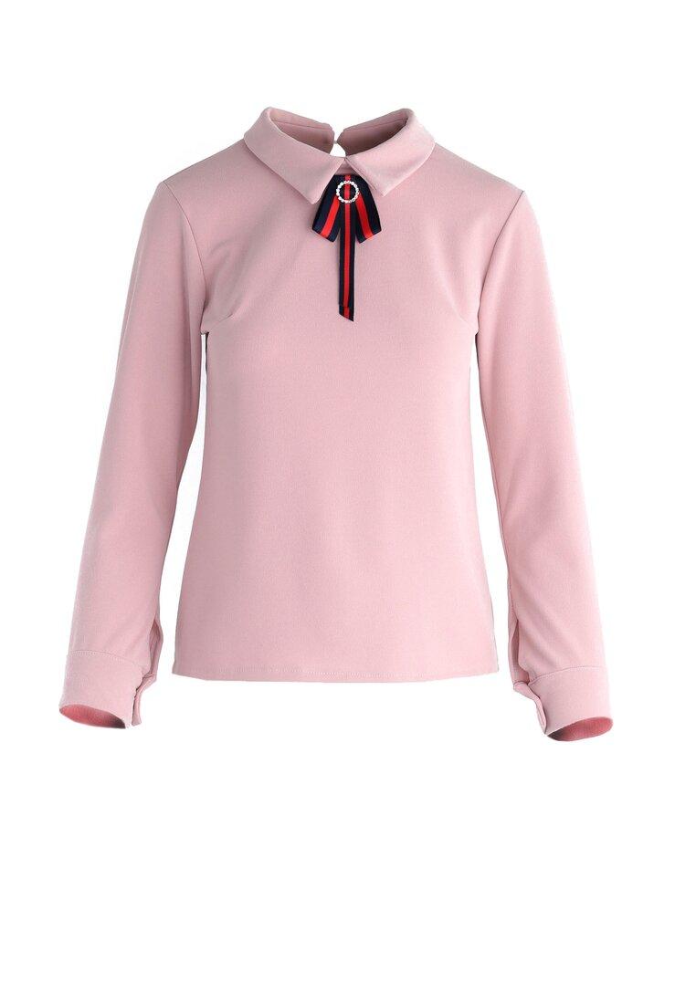 Różowa Bluzka Epoque