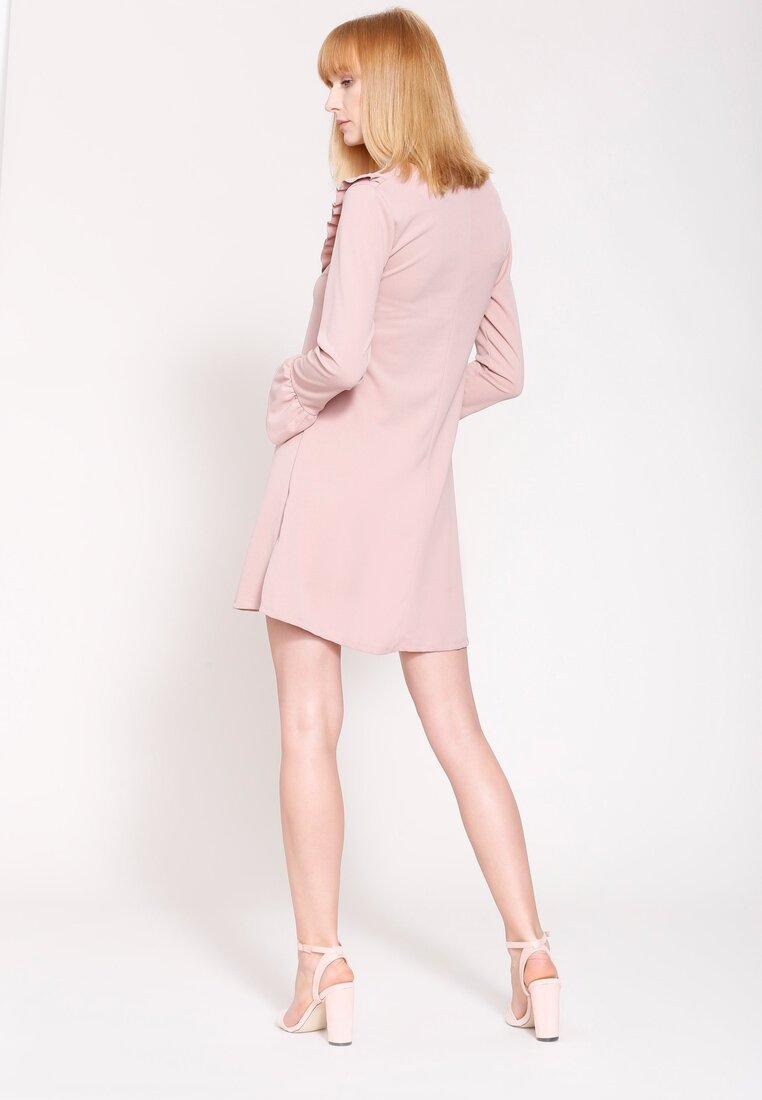 Różowa Sukienka Exciting