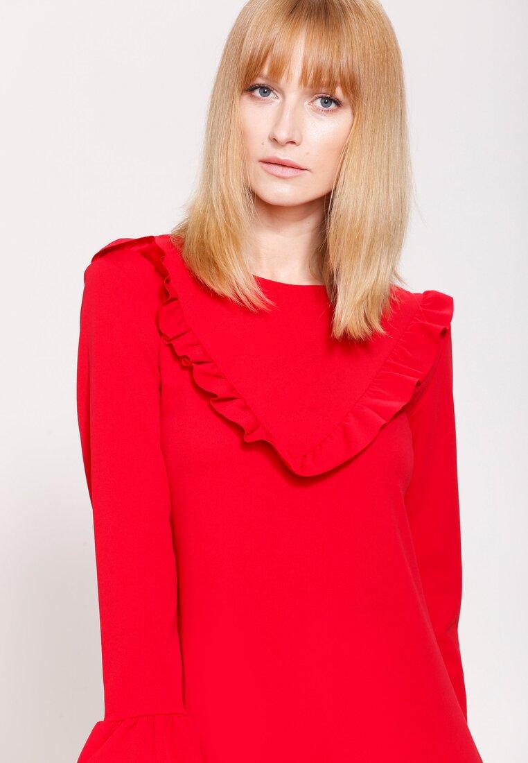 Czerwona Sukienka Exciting