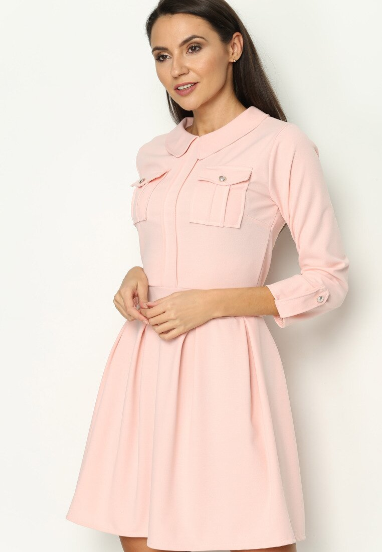 Różowa Sukienka Believe It
