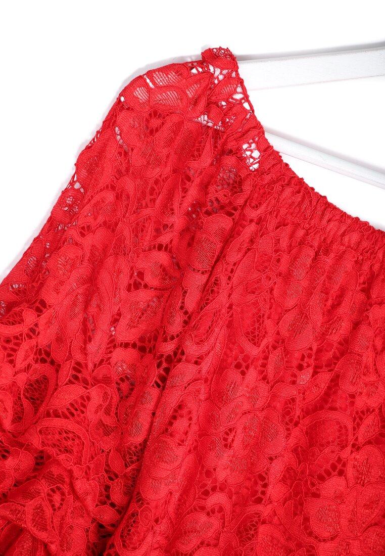 Czerwona Bluzka Spanish Lace