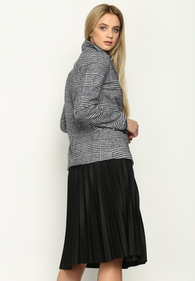 Szara Marynarka Tweed