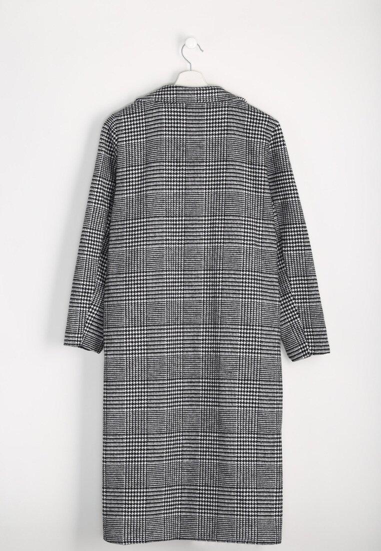 Szary Płaszcz Oversized