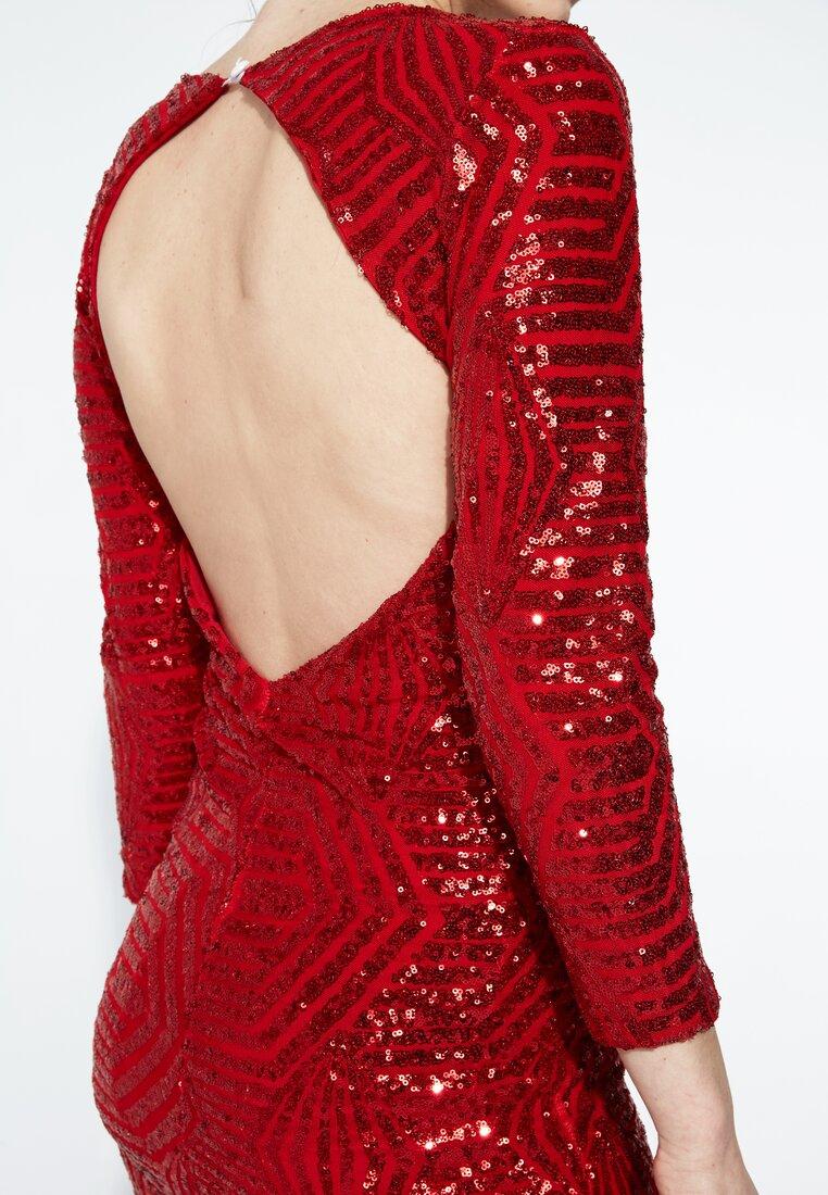 Czerwona Sukienka Lights Down Low