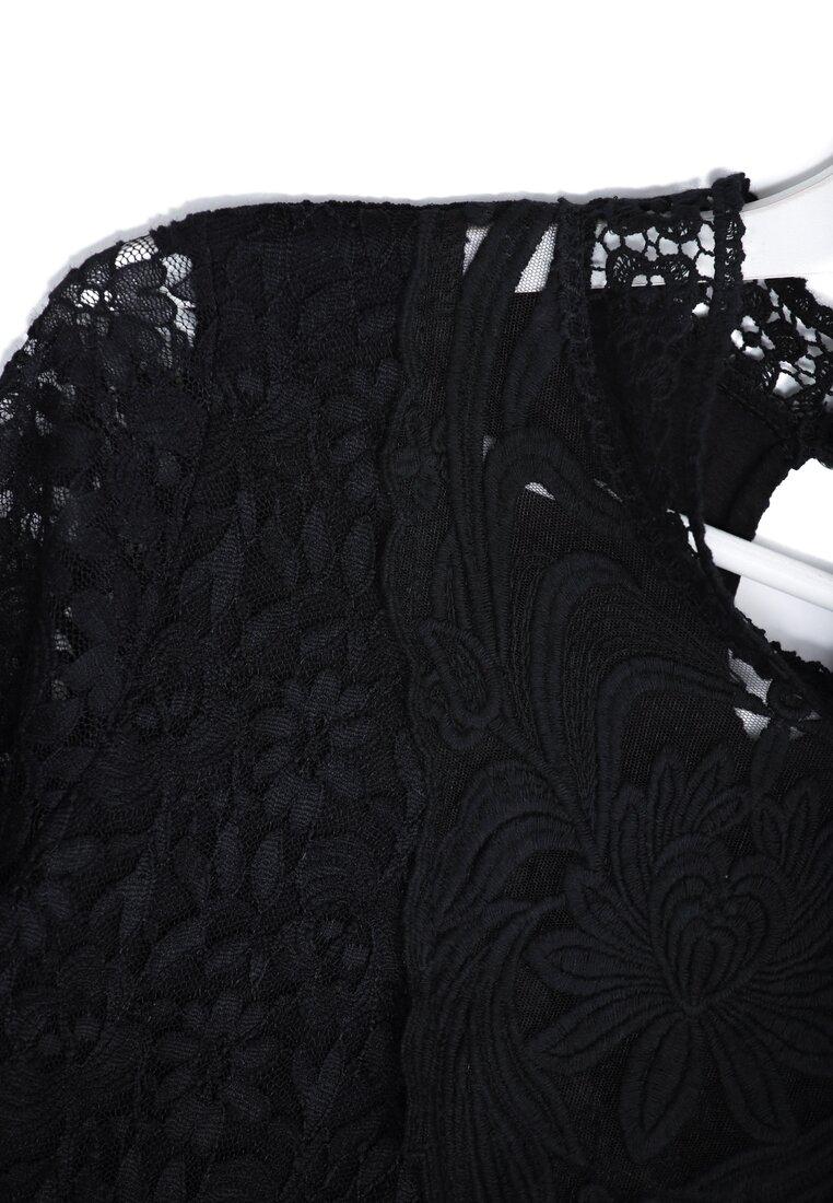 Czarna Bluzka Victorian