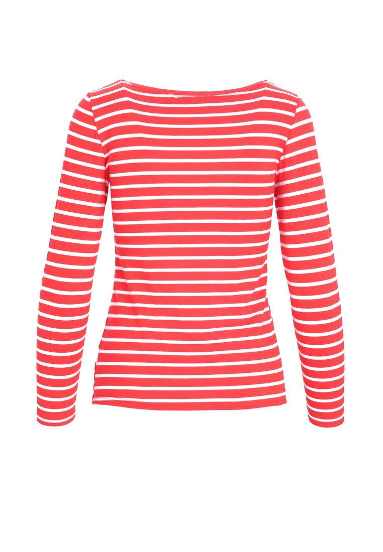 Czerwono-Biała Bluzka Horizontal