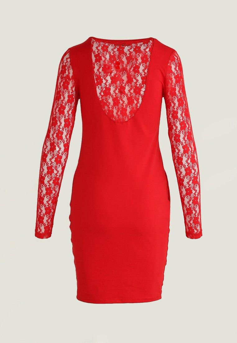 Czerwona Sukienka Snug