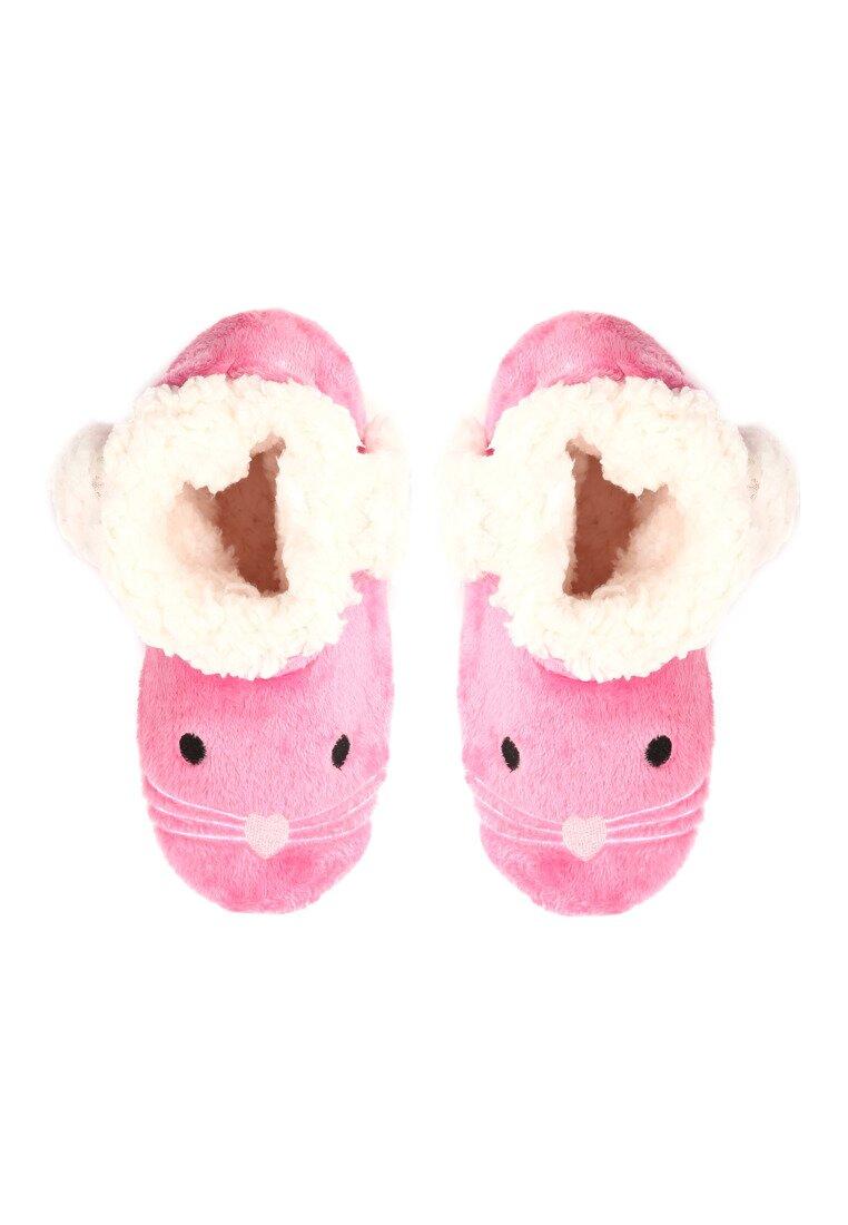 Różowe Kapcie Mousehole