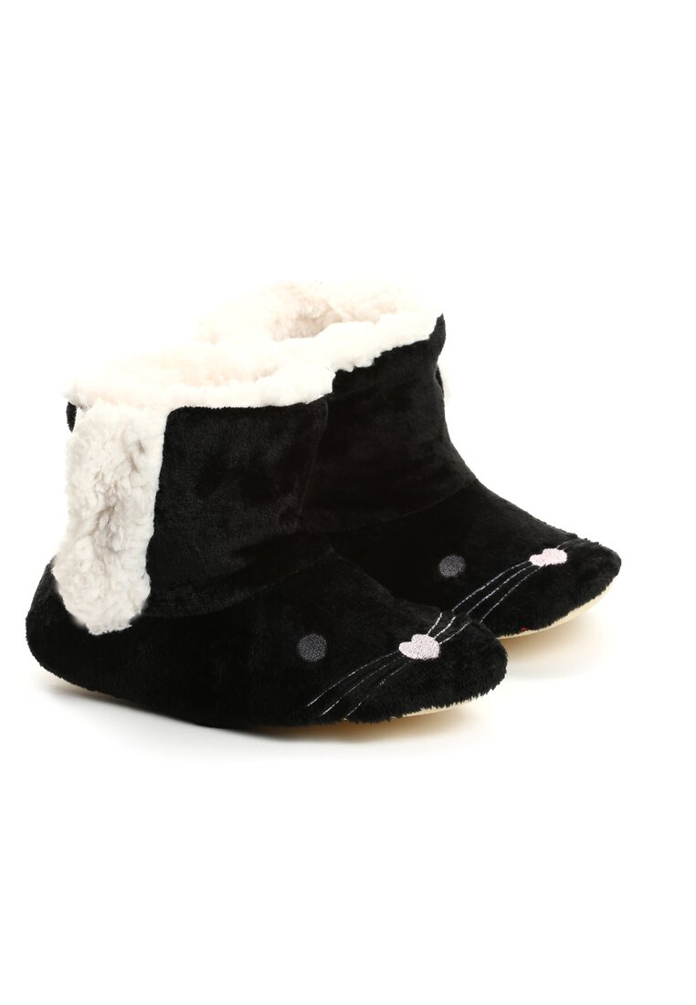 Czarne Kapcie Mousehole