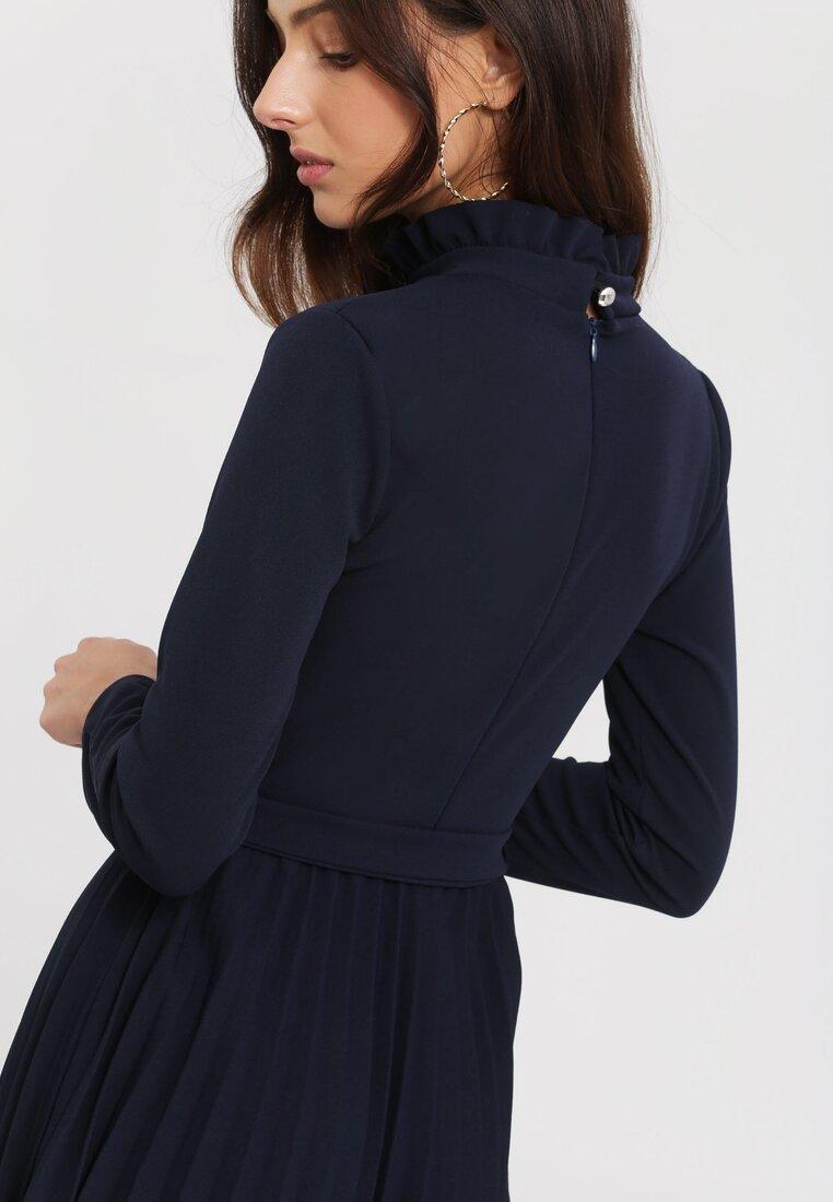 Granatowa Sukienka For You