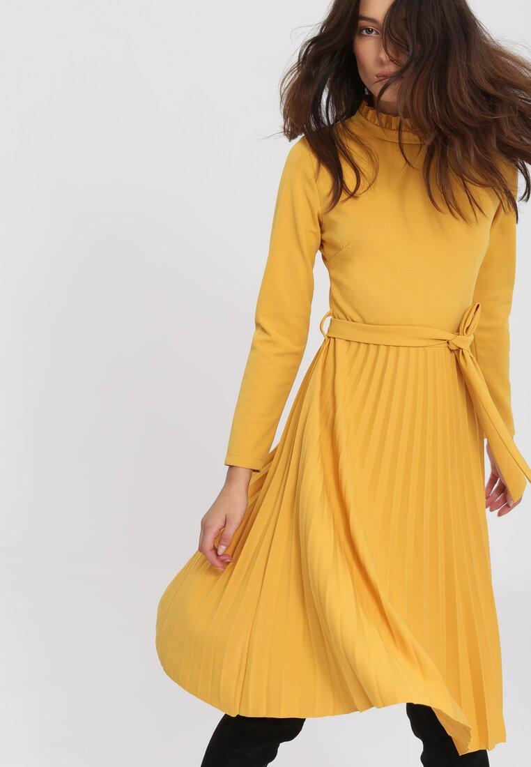 Żółta Sukienka For You